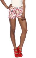 Tessora Embroidered Shorts