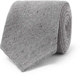 Melange Home Thom Sweeney 8cm Wool And Silk-Blend Tie
