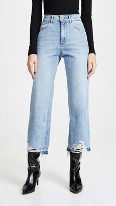 DL1961 Hepburn High Rise Wide Leg Jean