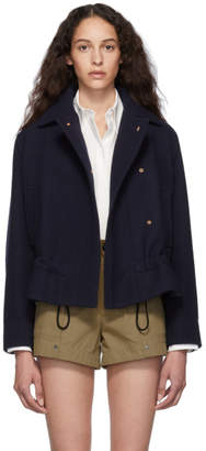 Chloé Blue Wool Jacket
