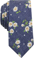 Bar III Men's Yogi Floral Skinny Tie, Only at Macy's