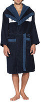 Fendi Terry Cloth Monster Robe, Blue