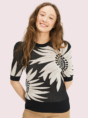 Kate Spade Falling Flower Sweater