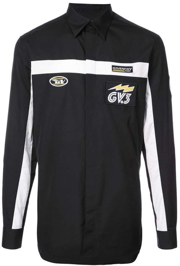 Givenchy motocross logo shirt