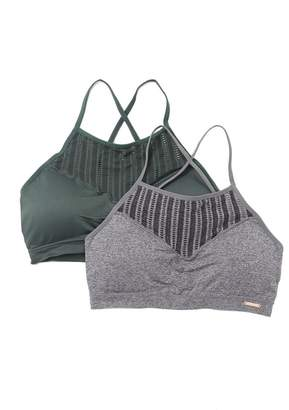 Danskin Striped Bralette - Set of 2