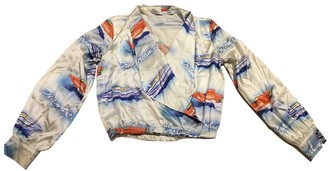 Ashley Williams Blue Silk Top for Women