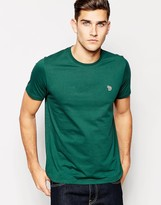 Paul Smith Jeans T-shirt With Zebra Logo Regular Fit - Green