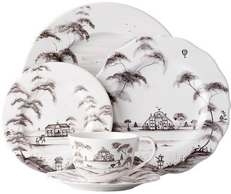 Juliska Set of 5 Country Estate Place Setting - White/Black