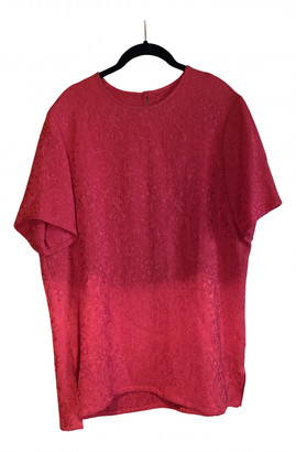 Givenchy Red Synthetic Tops