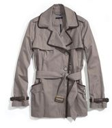 Women's Classic Piped Short Trench