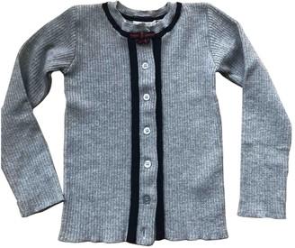 Gucci Grey Wool Knitwear