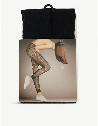 Falke Celebration leopard-patterned leggings