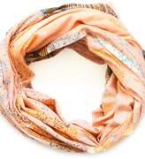Abbacino Pink Cotton Scarf