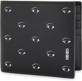 Kenzo Billfold eyes motif wallet