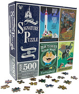 Disney Disneyland Attraction Poster Jigsaw Puzzle Set