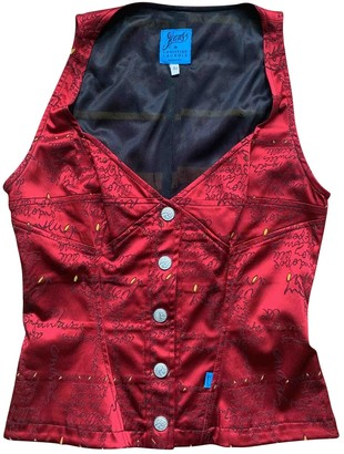 Christian Lacroix Red Top for Women Vintage