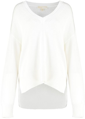 MICHAEL Michael Kors Cotton And Cashmere Sweater