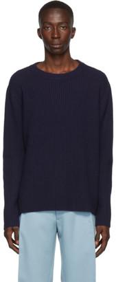 Acne Studios Navy Wool Sweater