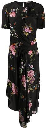 Preen Line Floral-Print Asymmetric Dress