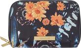 Tartan + Twine Floral Double Zip Organizer