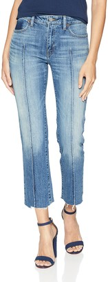 Lucky Brand Women's MID Rise AVA Slim Straight Jean in Waterville 27