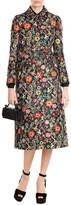 RED Valentino Capotto Floral Print Coat
