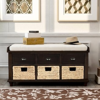 Storage Bench With Baskets Shop The World S Largest Collection Of Fashion Shopstyle
