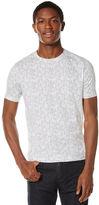 Perry Ellis Short Sleeve Floral T-Shirt