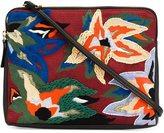 Lizzie Fortunato 'Dancing Flowers' clutch bag