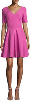 Opening Ceremony Stone Penn Tulip Dress, Fuchsia