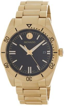 Movado Men's Sport Series PVD Watch, 41mm
