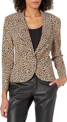 Norma Kamali Women's Short Single Breasted Jacket