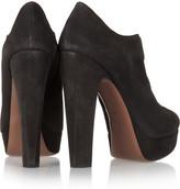 Alaia Suede platform boots