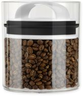 Prepara Evak Fresh Saver Metropolitan 1.05 qt. Short Storage Canister in White/Black