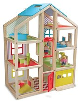 Melissa & Doug Toddler 'Hi-Rise' Doll House (Online Only)