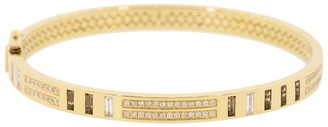 Harwell Godfrey Baguette Topaz and Diamond Bangle