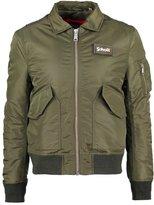 Schott Nyc Winter Jacket Army Khaki