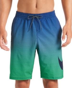 """Nike Men's 6:1 Water-Repellent Ombre 9"""" Swim Trunks"""