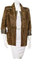 Oscar de la Renta Spring 2010 Collection Long Sleeve Broadtail Jacket