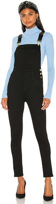 WeWoreWhat High Rise Skinny Overalls.