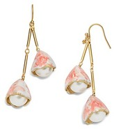 Tory Burch Pearl Bud Drop Earring