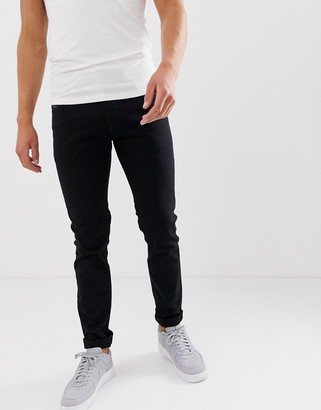 Diesel Thommer stretch slim fit jeans in 0688H stay black