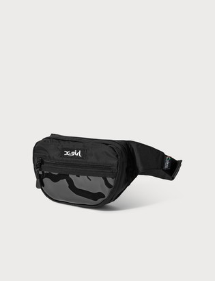 X-girl PVC Pocket Hip Bag