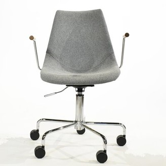 Pacifica Gingko Home Furnishings Task Chair Gingko Home Furnishings Color: Grey