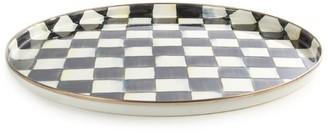 Mackenzie Childs Mackenzie-Childs Courtly Check Enamel Round Tray (36Cm)