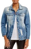 Rails Knox Distressed Denim Jacket