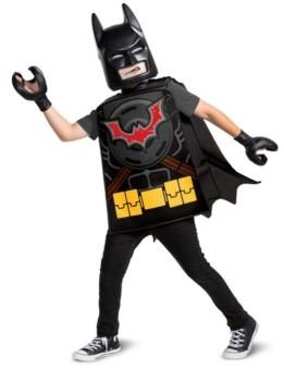 BuySeasons Big Boys and Girls Lego Movie 2 - Batman Basic Costume