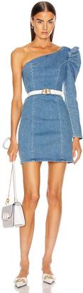 GRLFRND Ruched Sleeve Dress in No Limits | FWRD