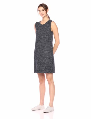 Daily Ritual Women's Cozy Knit Mcle Sleeve Dress