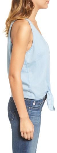 AG Jeans Women's The Cynthia Cotton Chambray Tank